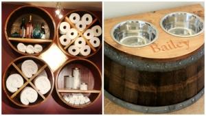 15 idées pour transformer de vieux tonneaux en objets utiles