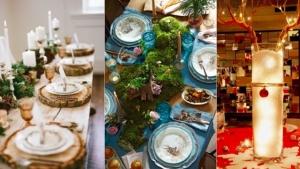 Image illustrant l'article Une table de Noël merveilleusement décorée grâce à 44 idées
