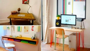 20 id es diy pour am nager facilement un coin bureau - Amenager un coin bureau ...