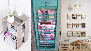 Image illustrant l'article 27 Idées pour ranger vos magazines tout en donnant du cachet à votre intérieur