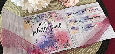 Image illustrant INVITATION DE MARIAGE FACILE