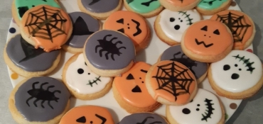 Image illustrant Des biscuits pour Halloween