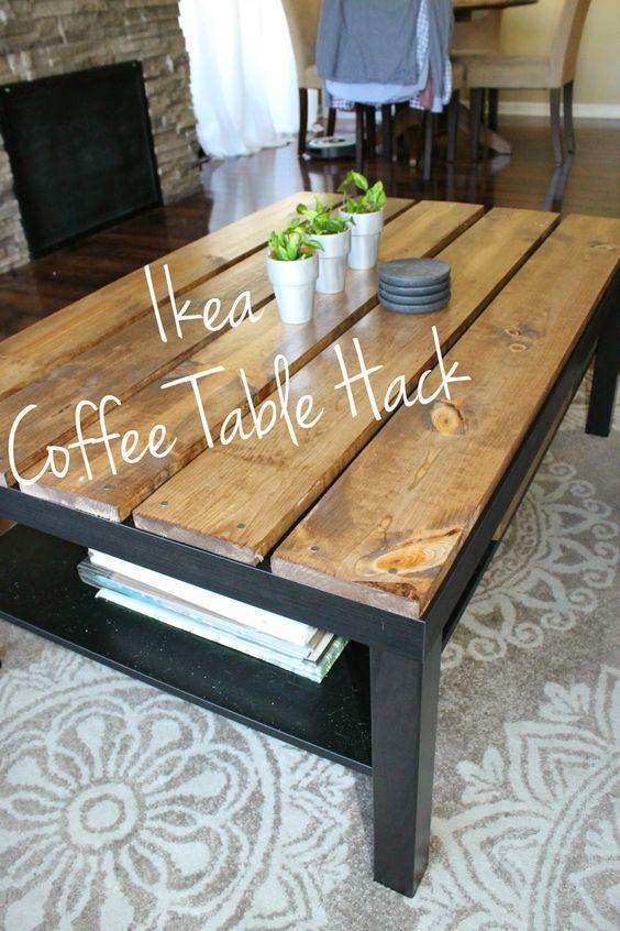 30 id es pour donner une seconde vie tous vos meubles for Relooker une table de salon