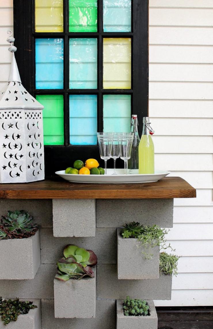 Table Basse Avec Parpaing 17 idées pour recycler des parpaings à la maison
