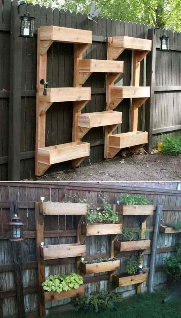 Idee Deco Palette Jardin 63 idées pour changer totalement la décoration de votre jardin