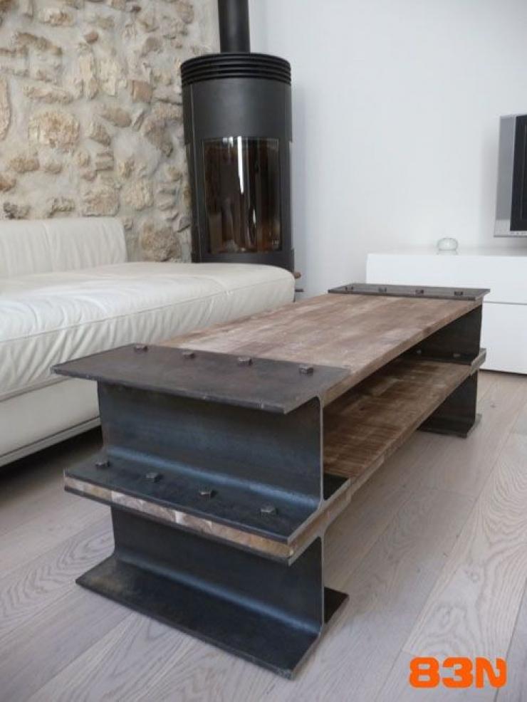 38 tables tr s originales pour transformer votre salon en une galerie d art - Table de compression plancher ...