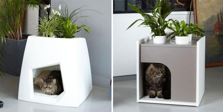 25 id es pour agr menter le quotidien de tous les chats. Black Bedroom Furniture Sets. Home Design Ideas