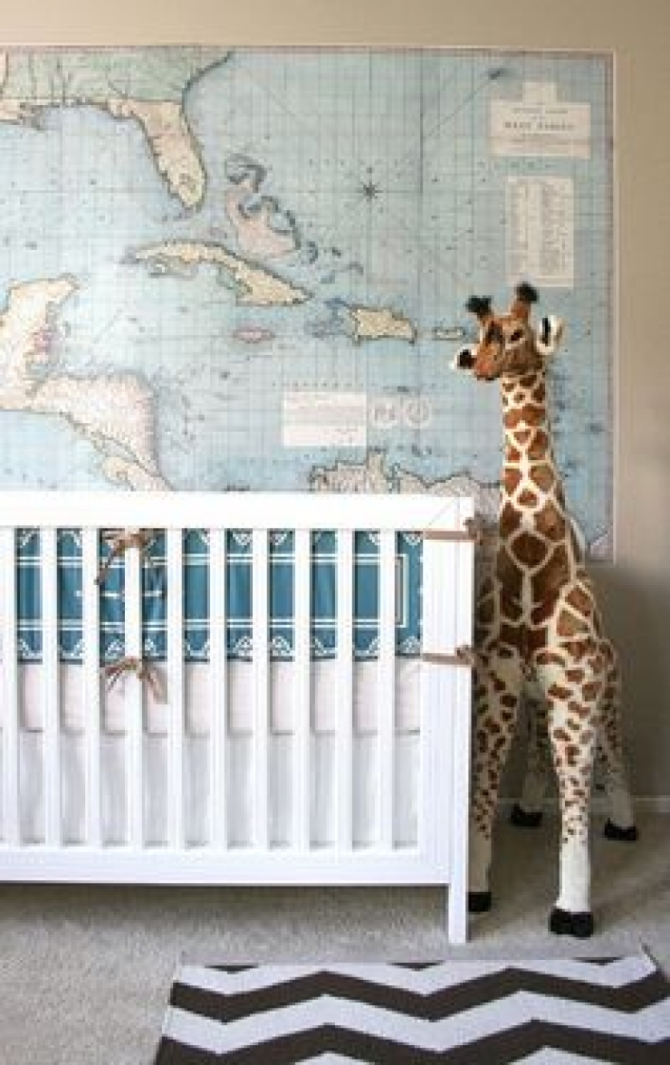 Idée Déco Chambre Simple donnez un peu d'originalité à la chambre de bébé grâce à 76