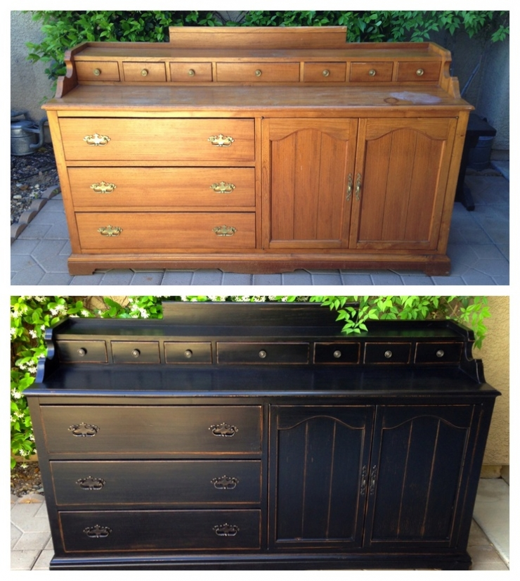 Avant apr s 58 photos qui prouvent l int r t de recycler tous vos meubles - Relooking vieux meubles ...