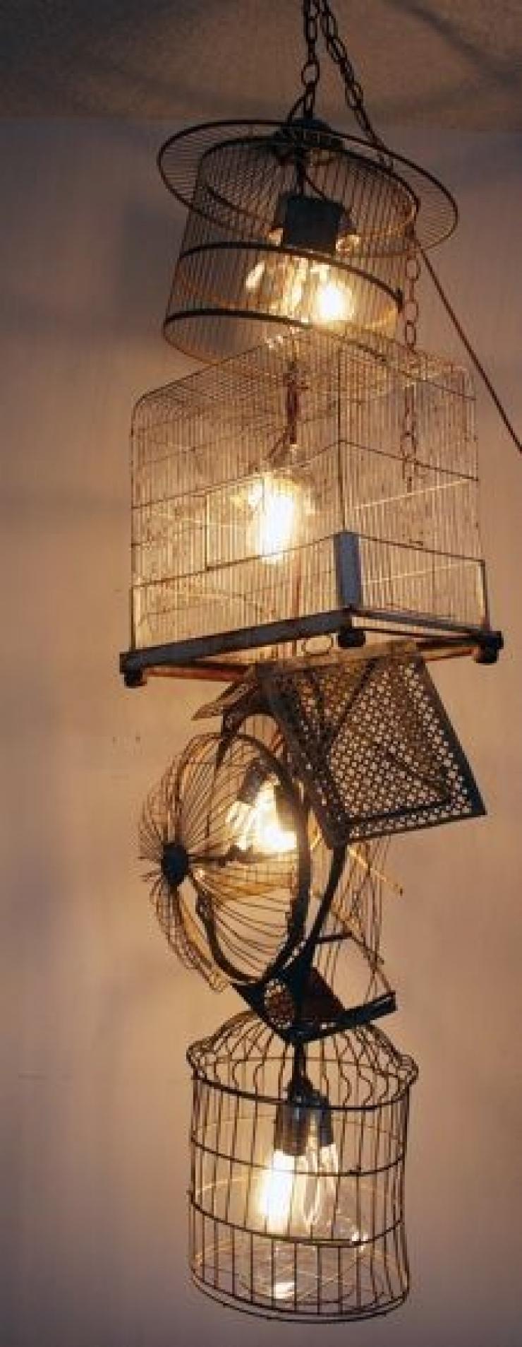 40 objets d tourn s en plusieurs lampes avec une bonne dose de cr ativit. Black Bedroom Furniture Sets. Home Design Ideas