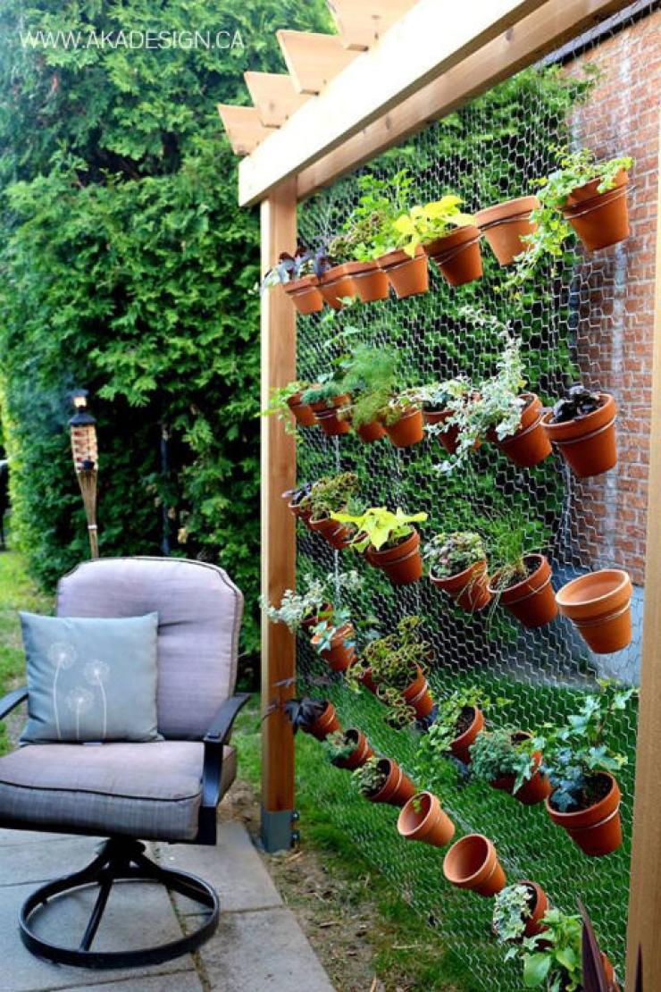 Décorer Un Mur De Jardin 63 idées pour changer totalement la décoration de votre jardin